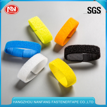 100% Nylon/Polyester Releasable Multifunction Adhesive Reusable Cable Ties Wraps