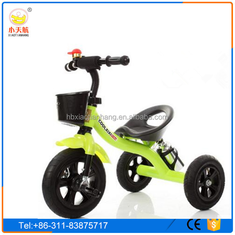 New Model Simple Style Plastic and Metal Kids Tricycle/Three wheels Cheap baby tricycle