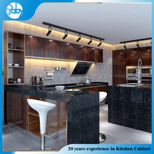Modern pink kitchen cabinet production line
