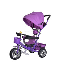 2016 new model baby tricycle children tricycle /steel Material three wheel kid tricycle handle bar EVA tire baby trike for sale