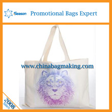 Unique eco friendly cotton bags Customized canvas tote bag shopping bag