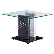 FSC/BSCI Factory pure glass Exotic coffee table