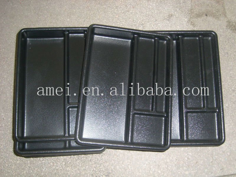 ABS plastic thermoforming serving tray