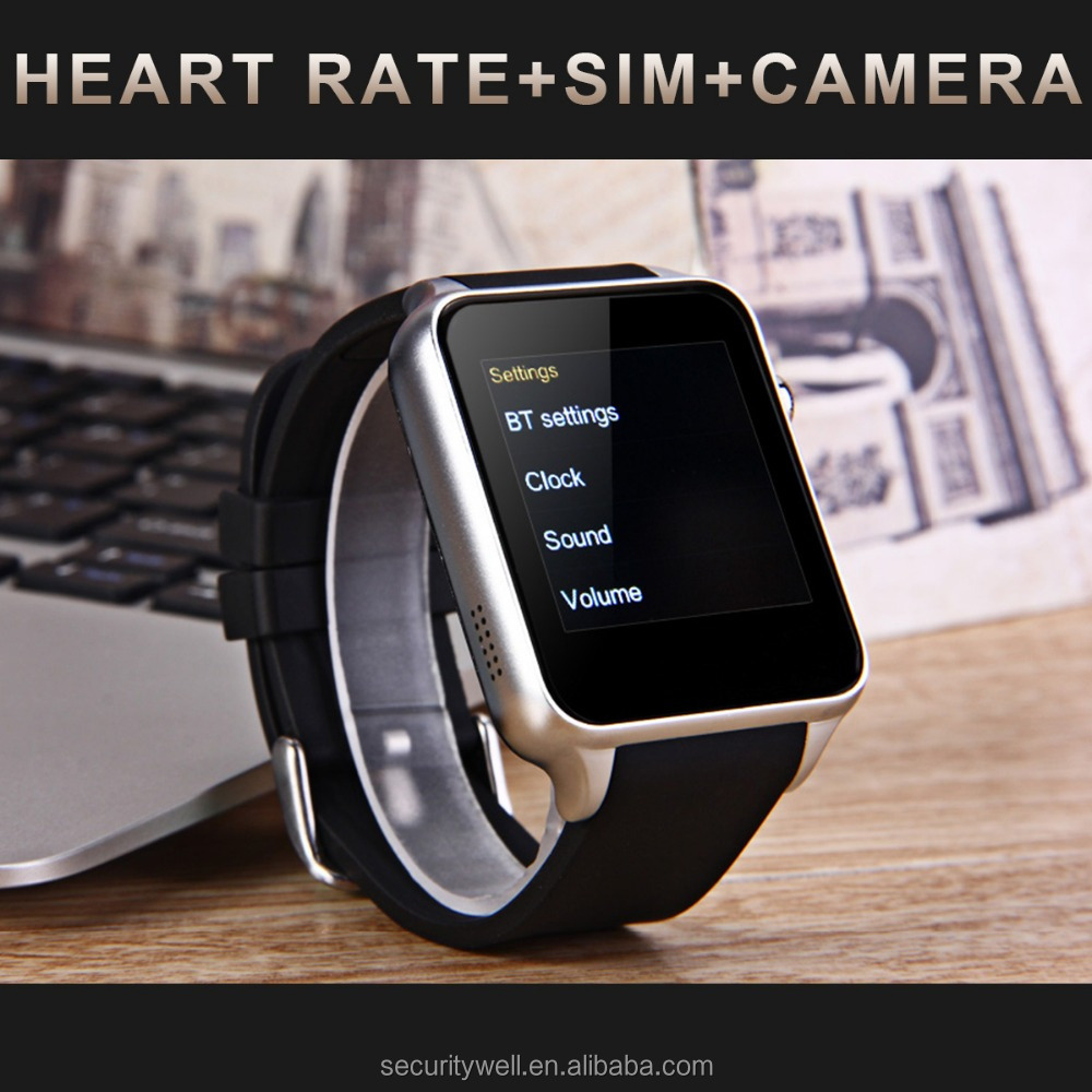 Heart rate camera 3G WiFi DZ09 GT08 Android watch phone Smart watch SIM
