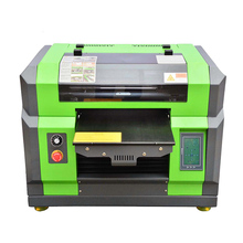 Industrial portable digital smart pvc id visting card uv inkjet printer machine china