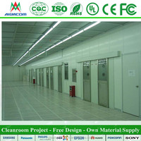 ISO4 8 Cleanroom Project With Clean