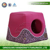 QQPET 2014 QingQuan plush / sponge dog house pet house (factory direct selling)