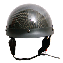 ECE DOT approved Beanie helmets carbon fiber motorcycle half face helmet manufacturer