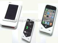 Solar emergency charger for Phone 4