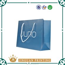 Custom printing made luxury shopping packaging clothes gift cosmetic paper pack bag custom