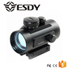 Tactical 1x40 Red Green Dot Sight Scope w/10mm - 20mm Weaver Mounts 5 MOA