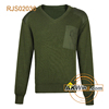 Vintage Putz Olive Green Military Sweater