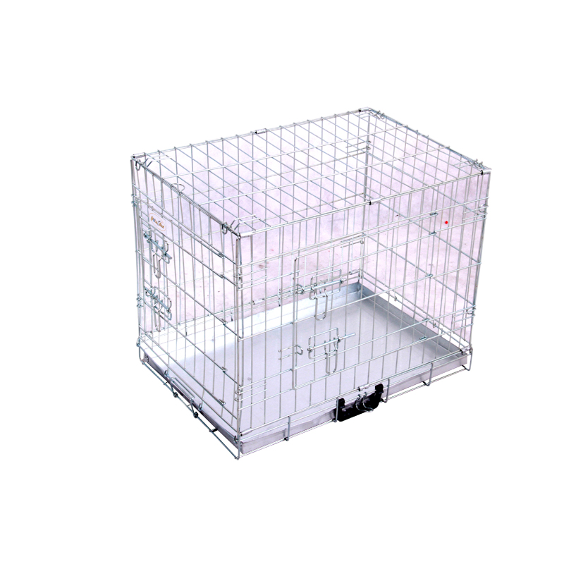 Best Selling & Good Quality Silver Folding Metal Dog Cage Pet Crate Kennels