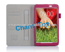 100% Brand New Stand Leather Case For LG G Pad 8.3""
