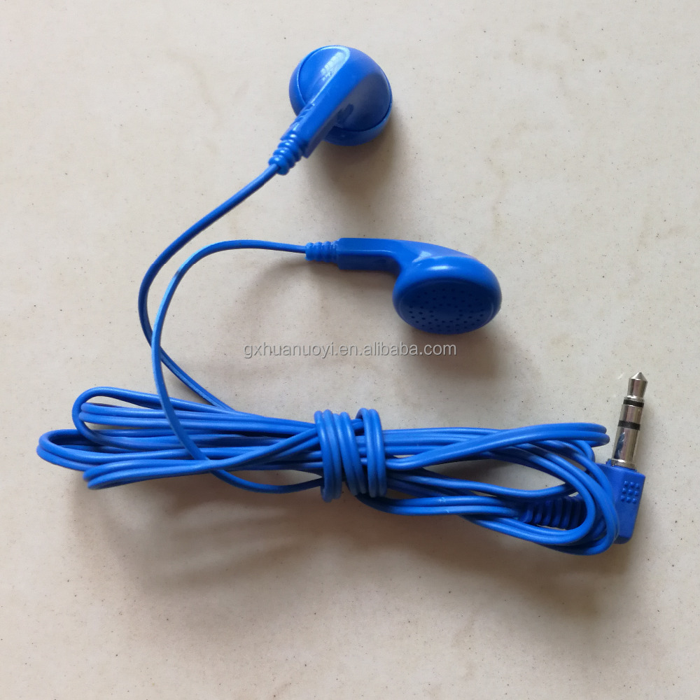 1.3m/1.5m length,tourist bus ear phone/cheap earbuds/headphone with microphone/ high quality earphone/high quality headphone