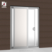New style aluminium frame glass sliding door with flyscreen or without flyscreen