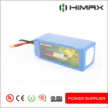 High Discharge Rate 50C 22.2V 6S 5000mAh Lipo Battery Pack for UAV Drone