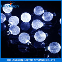 NINGBO SELLER XLTD-137 solar led decorative light solar string light solar holiday living lights