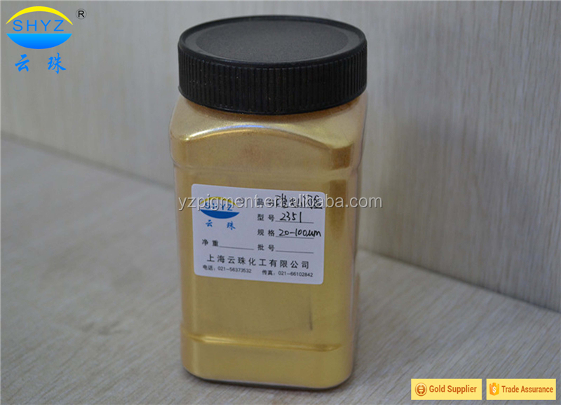 Crystal Gold pearlescent pigment paint prices
