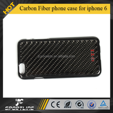 GTI LOGO Slim plastic Cover with real black Carbon Fiber phone case for iphone 6 4.7 inch