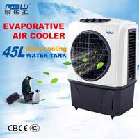 Environment Cardboard Water Curtain Air Cooling