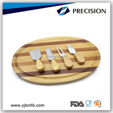 Promotion Cheese Knife Set with wooden Cutting Board