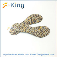 Comfort self-adhesive disposable insole disposable shoe inserts for high heel shoe