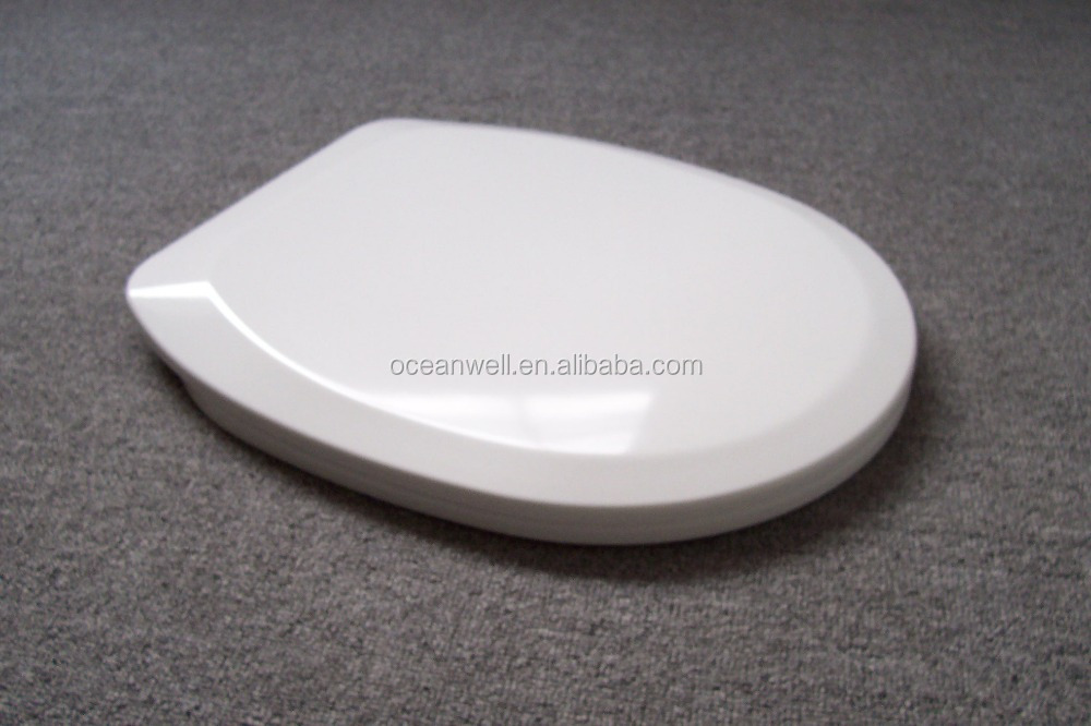 Universal shape toilet seat cover for most of the standard WC pans