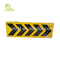 Hot sale road safety solar LED flashing waterproof aluminum arrow traffic sign board