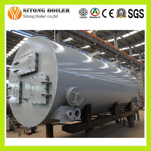 90% Heating Efficiency Diesel 5 TON Steam Boiler for Plastic Industry