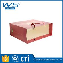 New selling attractive style shopping packaging paper bag