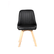Modern furniture leisure chair PU leather cover living room chair