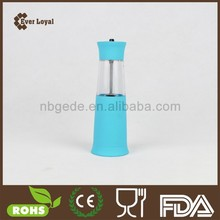 Colorful One Hand Operation Pump And Grind Pepper Mill