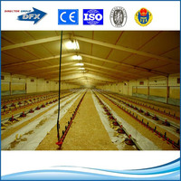 light steel structure layer chicken house and broiler chicken house for poultry farm