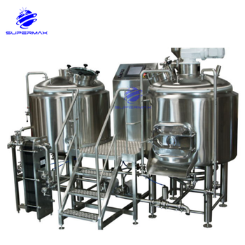 Small commercial semi automatic beer machine for beer plant