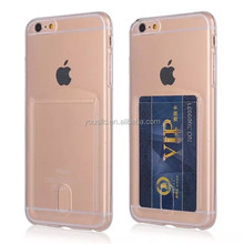 New Card Soft Clear TPU Gel Silicone Case for Apple Iphone 6 6 plus