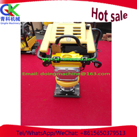 vibrate Pavement rammer for corner and groove