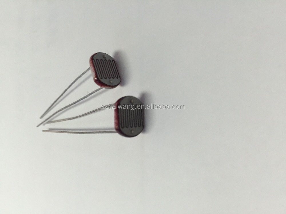 Light Dependent Resistor LDR Photoresistor wholesale and retail Photoconductive resistance CDS sensor LDR sensor