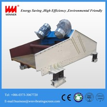 The best price high frequency dewatering vibrating screen/sand vibrating sieve machine