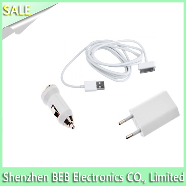 Speedy 3 in 1 charger kit for iphone has 1 year warranty from China