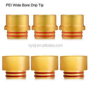 factory price 810 PEI ecig drip tips with high quality