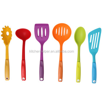High quality Silicone kitchen tools kichen tool set for good cooking