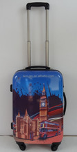 20' Greece land printed ABS printed hard luggage