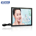 19inch showcase for shop advertising multimedia play taxi lcd monitor