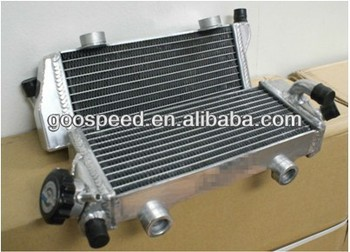 Aluminum Motorcycle Radiator for CR250R 02-04
