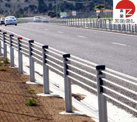 Roadside Barriers Galvanized Guard Rail Price For Highway