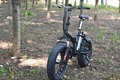 Folding bike electric, fat tire E-cycle