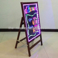 2016 New Writable No Powder LED Lighted Advertising Sign Writing Board