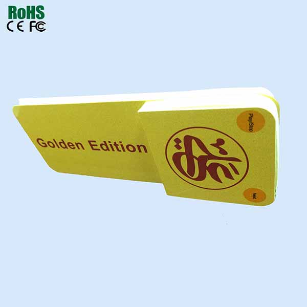 Golden Edition Sound Postcards With EVA Material