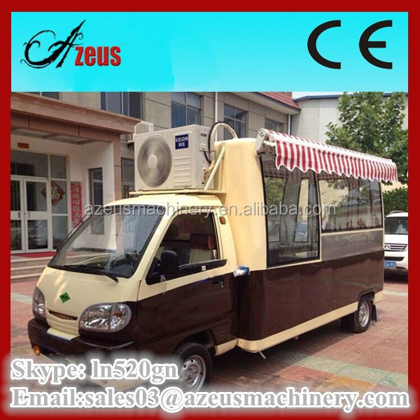 mobile catering vans camion food truck a vendre electric dining cart for sale buy camion. Black Bedroom Furniture Sets. Home Design Ideas